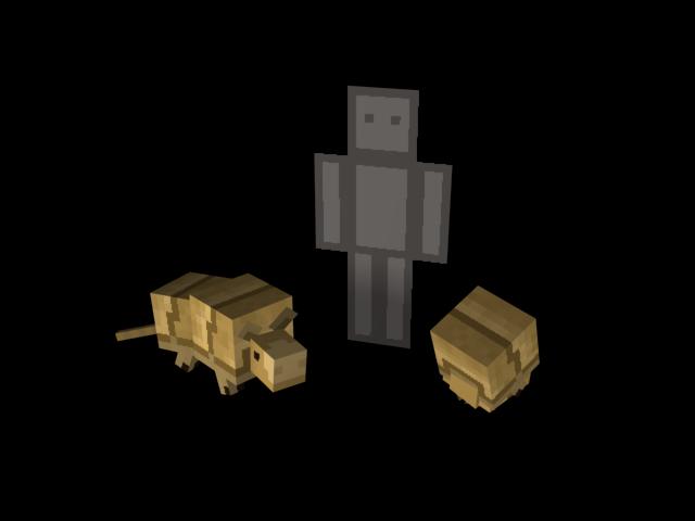 Armadillo Minecraft 1.8 - Quintessential Creatures 2.0