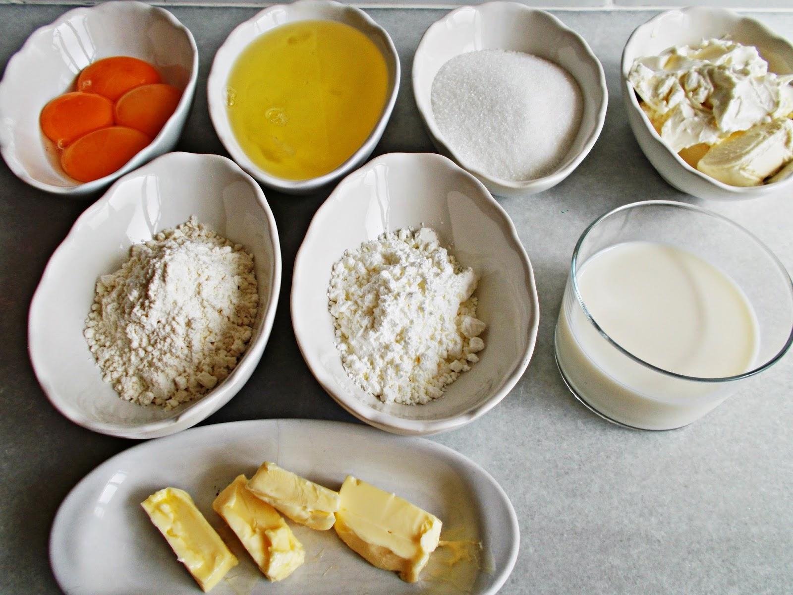 Receta-cocina-postre-repostería-bizcocho-soft cotton cake-tarta de queso japonesa-ingredientes