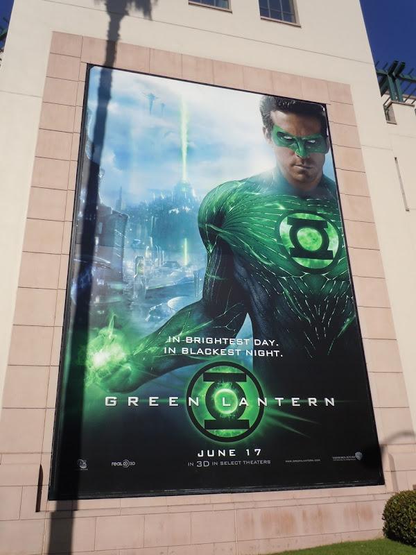 Green Lantern movie billboard
