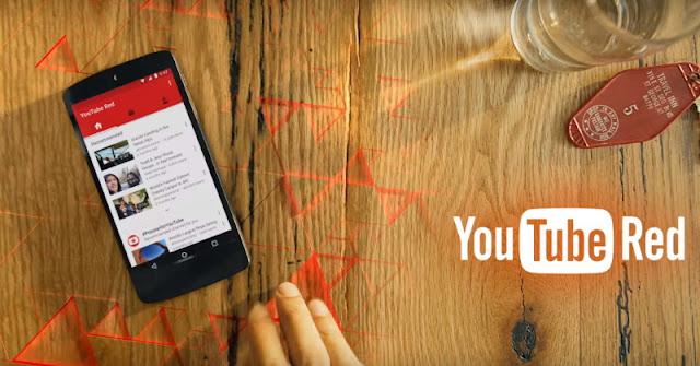 YouTube Red Tawarkan Konten Ekslusif dan Bebas Iklan