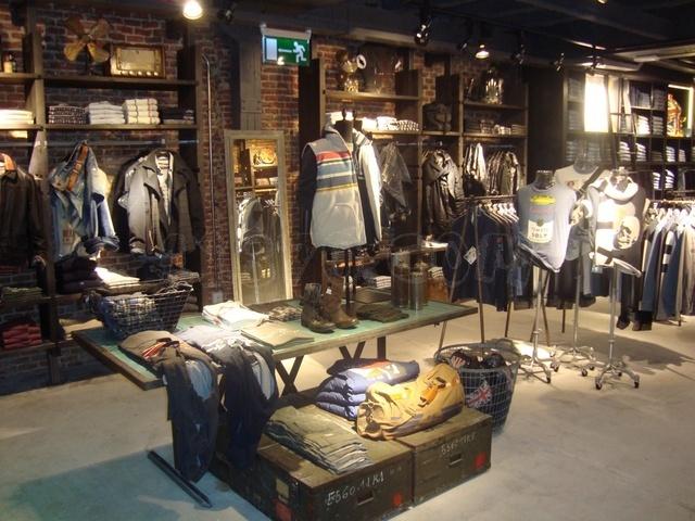De tiendas] tienda pepe jeans de fuencarral, puro industrial ...