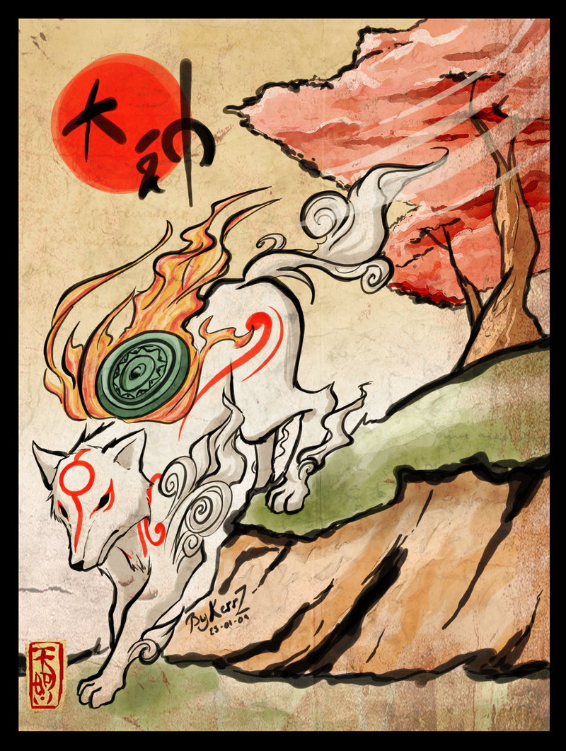 Okami HD & Widescreen Wallpaper 0.514428986783236