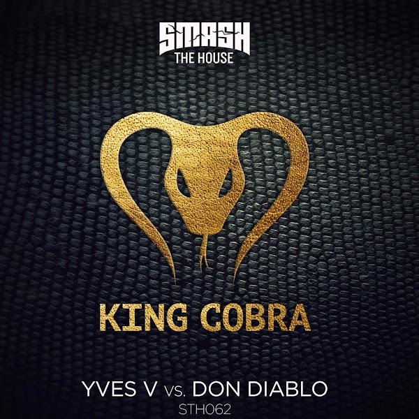 Yves V & Don Diablo - King Cobra - Single Cover