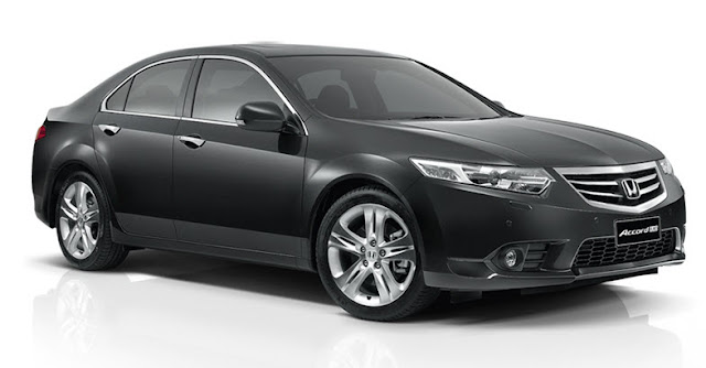 Cho thuê xe Honda Accord Euro Luxury 2.4 AT 2012