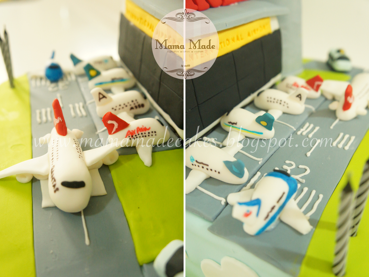 Airport Themed Cake Mama Made Cakes