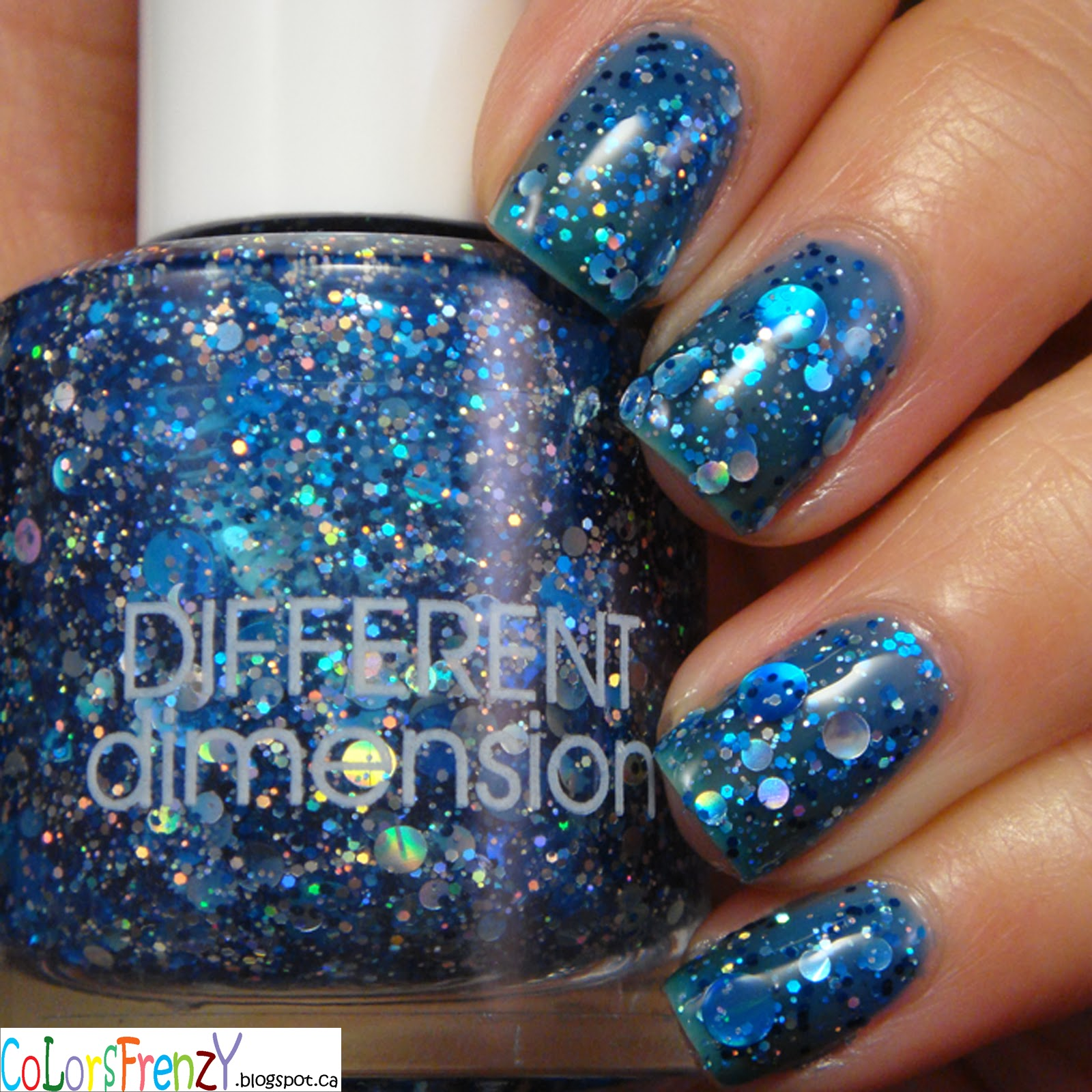 Colors Frenzy: Swatches: Different Dimension Da Ba Dee