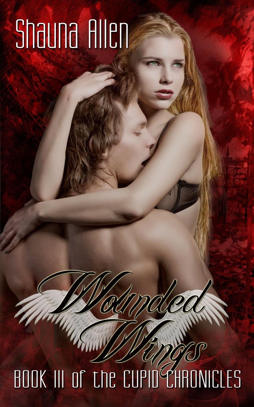http://www.amazon.com/Wounded-Wings-Cupid-Chronicles-Shauna-ebook/dp/B00HE4ZDZC/ref=sr_1_8?ie=UTF8&qid=1387376623&sr=8-8&keywords=shauna+allen