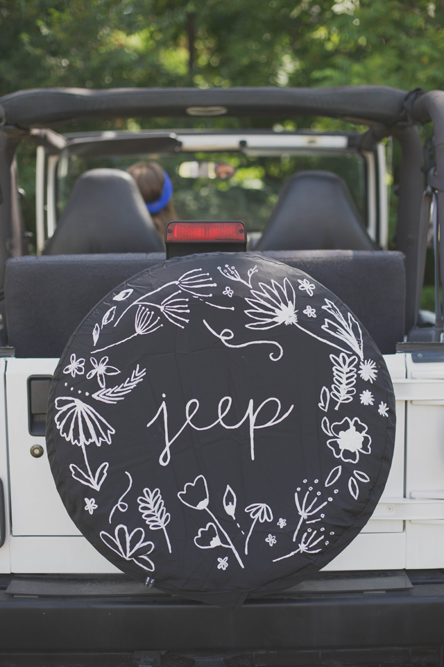 Always Rooney Jeep Tire Cover Restyle