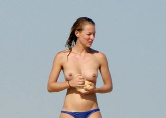 Maya Booth Topless