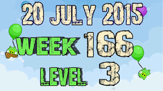Angry Birds Friends Tournament level 3 Week 166