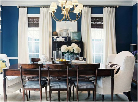 navy dining room chairs. elegant dining rooms with emecous navy