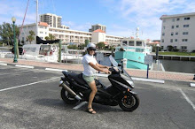 Paul & the new scooter