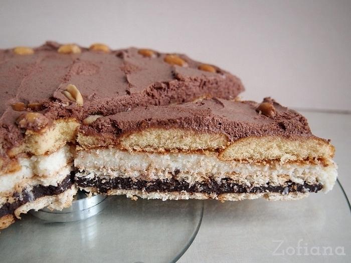 No Bake Chocolate Coconut Cream Pie
