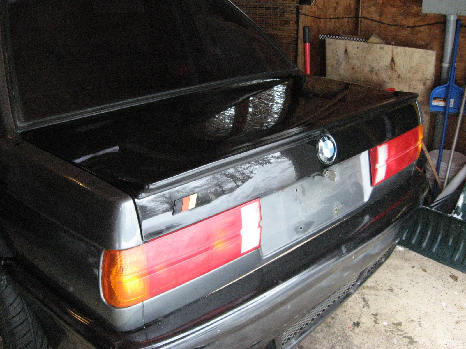 Car Exhaust Hood ~ My project bmw is e hood paint and trunk