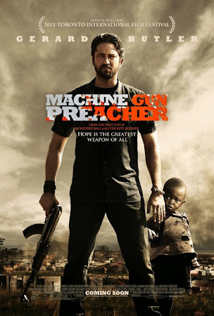 Poster Of Machine Gun Preacher 2011 In Hindi Bluray 720P Free Download