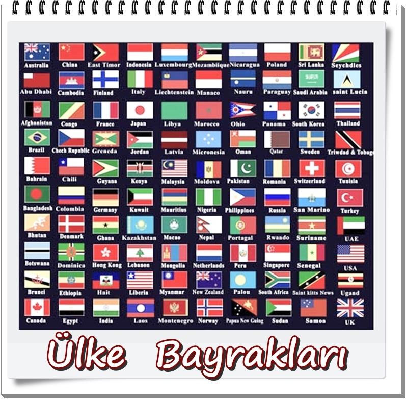 Ülke bayrakları resimleri