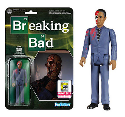 "San Diego Comic-Con 2015 Exclusive Breaking Bad ""Dead"" Gustavo Fring ReAction Retro Action Figure by Funko & Super7"