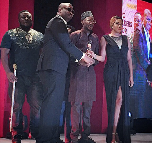 Photo: Don Jazzy wins Sun Creative person of the year award
