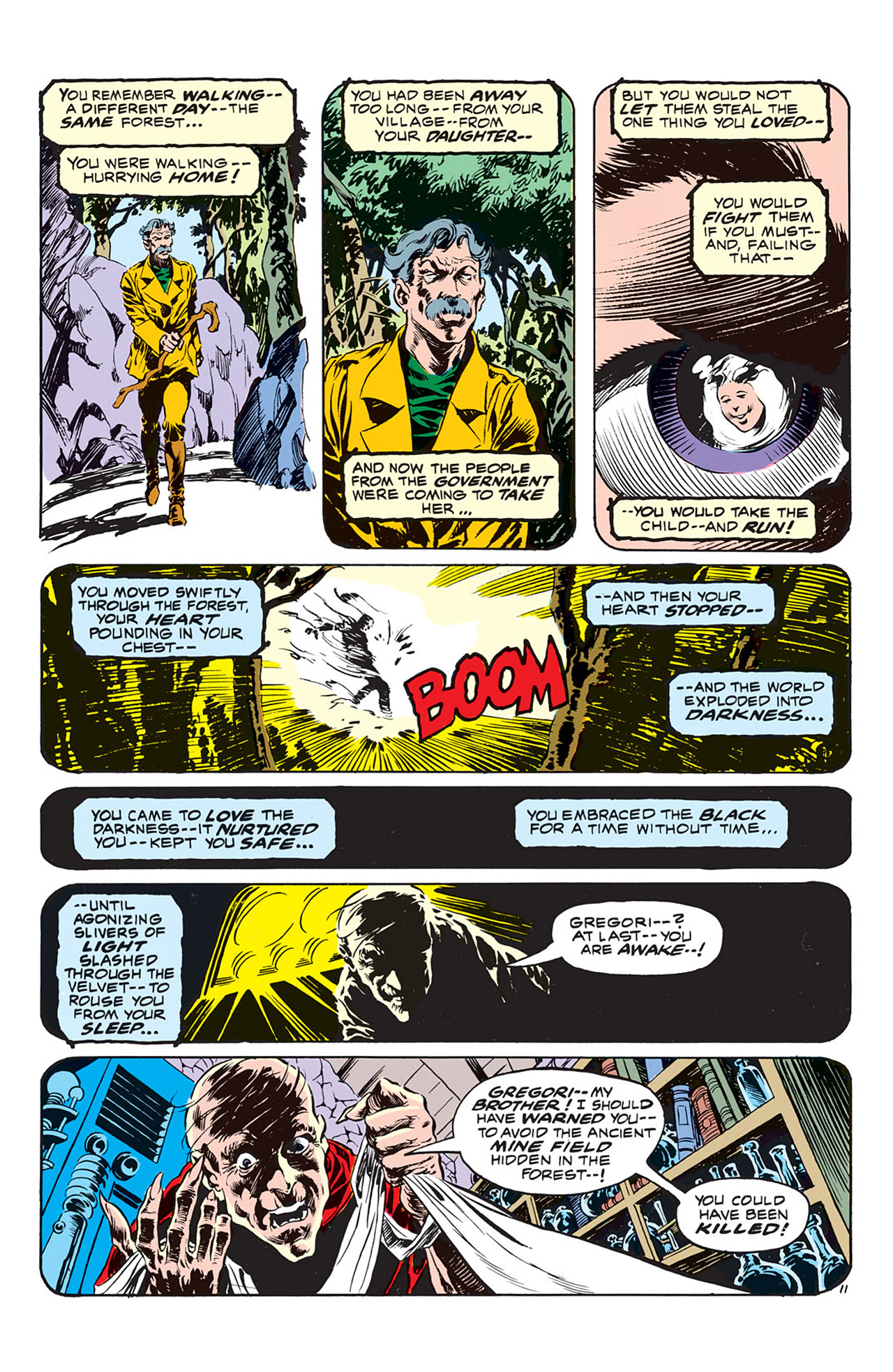 Swamp Thing (1972) Issue #3 #3 - English 12