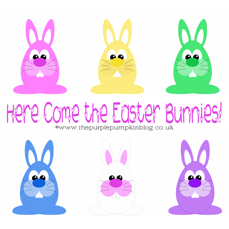 Here Come The Easter Bunnies!