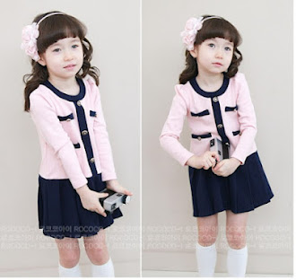 Clearance Stock : RM34 - Dress Cikicoko Kids