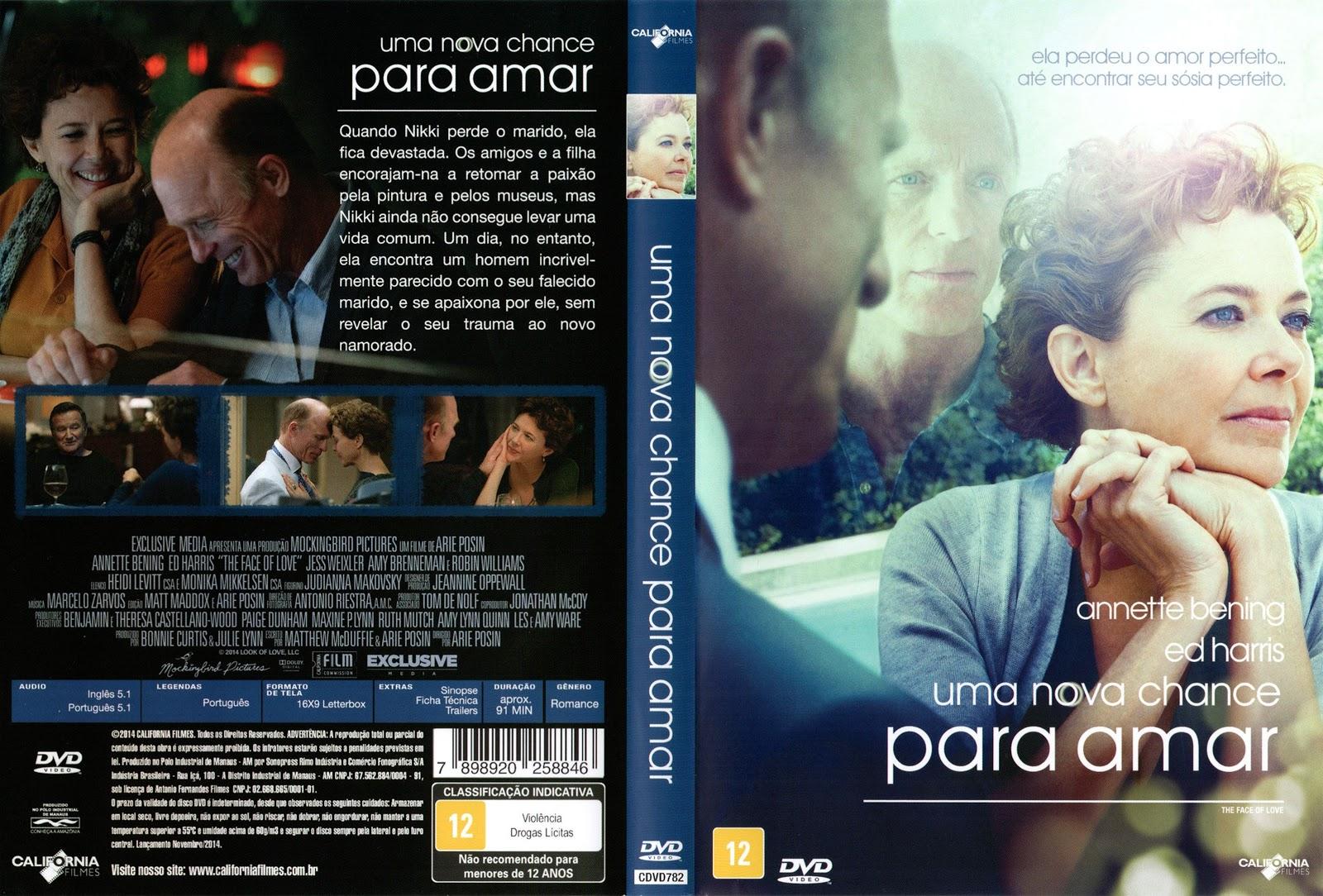 Capa DVD Uma Nova Chance Para Amar