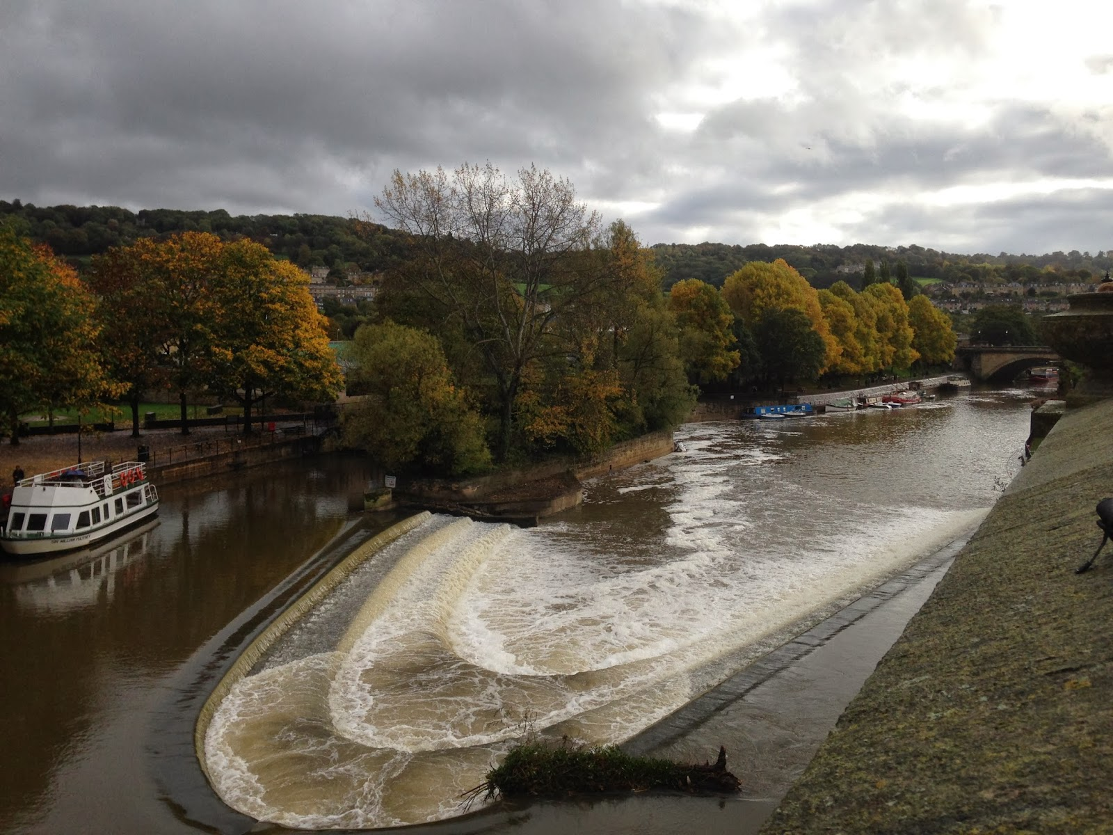 River avon weir Bath