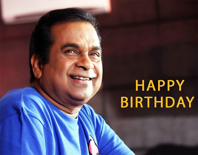 Brahmanandam Happy Birthday tweets
