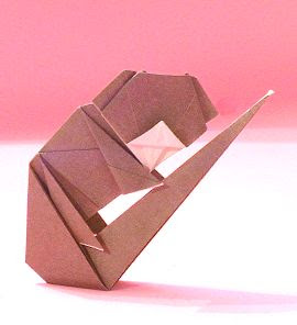 3d origami apple instructions