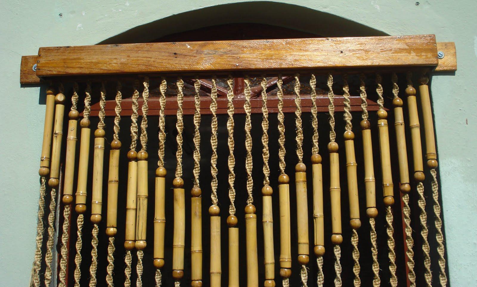 Gv artesanato cortina de bamb de correr - Cortina de bambu ...