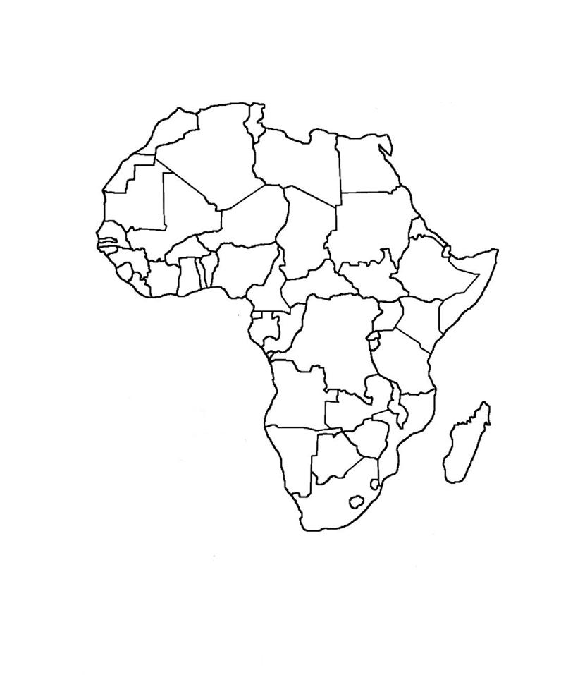Mapa Politico De Eu