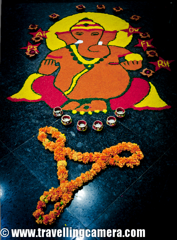 Diwali Rangoli - Art at Adobe | PHOTO JOURNEY