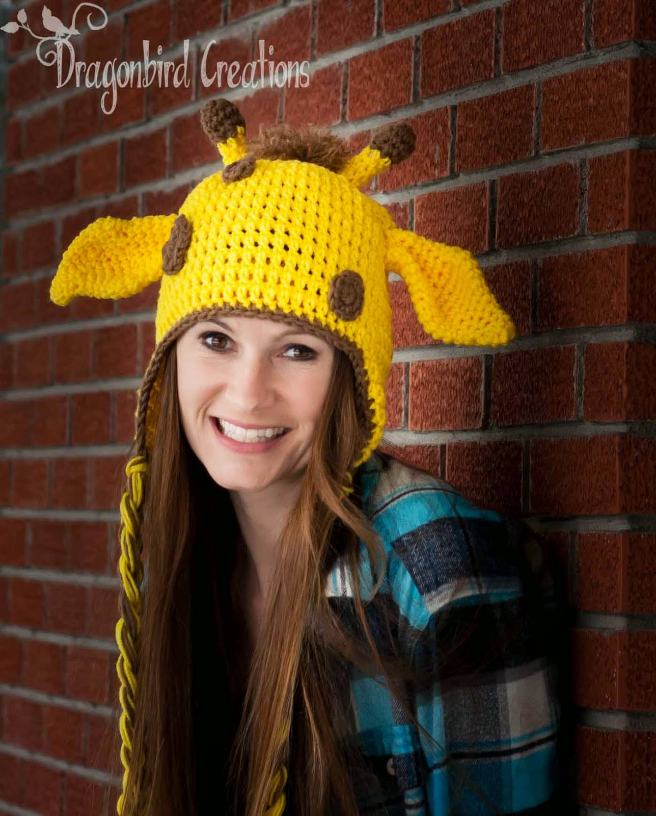 Free Crochet Pattern Giraffe Hat : Dragonbird Creations: Adventures in Crafts: Unpsychotic ...