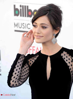 Emmy Rossum Pictures in Black Dress at 2013 Billboard Music Awards  0006