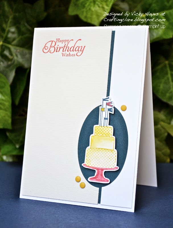 Make a cake stamp set by stampin Up available online in the uk