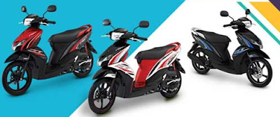 Warna Spesifikasi Harga Mio GT 2013