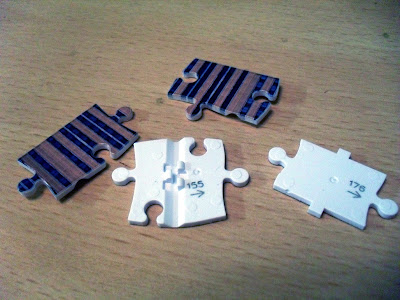 Ravensburger 3D puzzle pieces