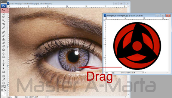 Membuat Mata Sharingan dengan Photoshop