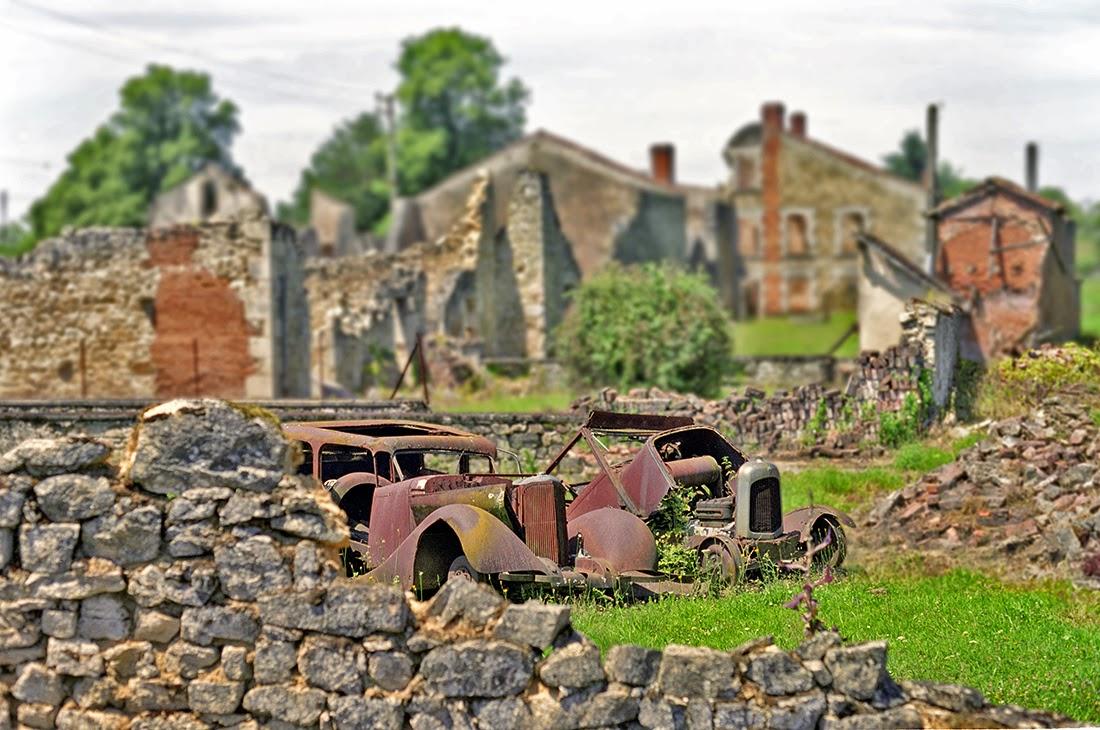 Vilarejo de Oradour-sur-Glane - França