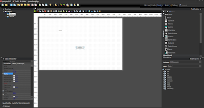 HTML5 Builder - Formulario con botón