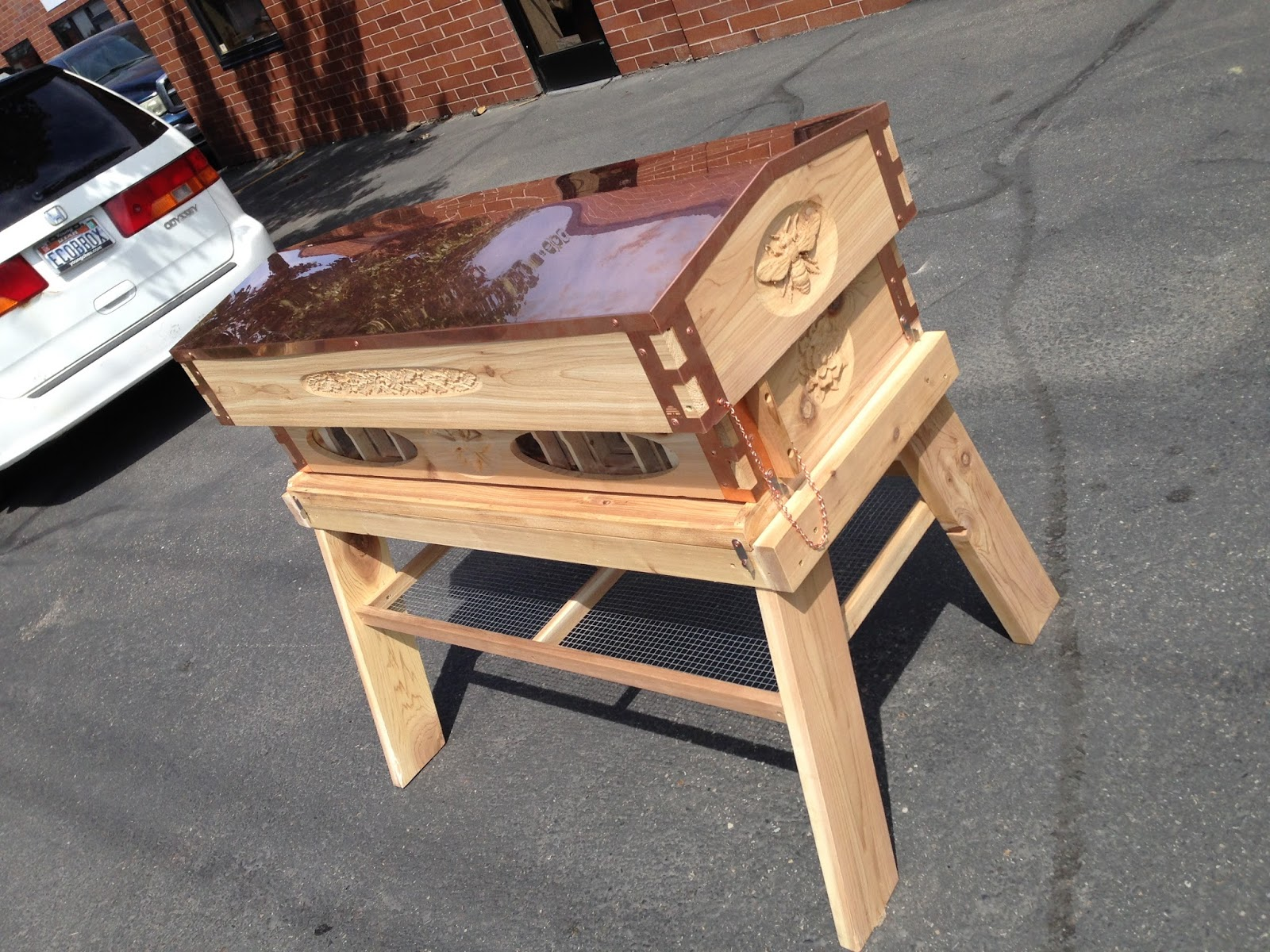 Langstroth Top Bar Long Box by Eco Bee Box