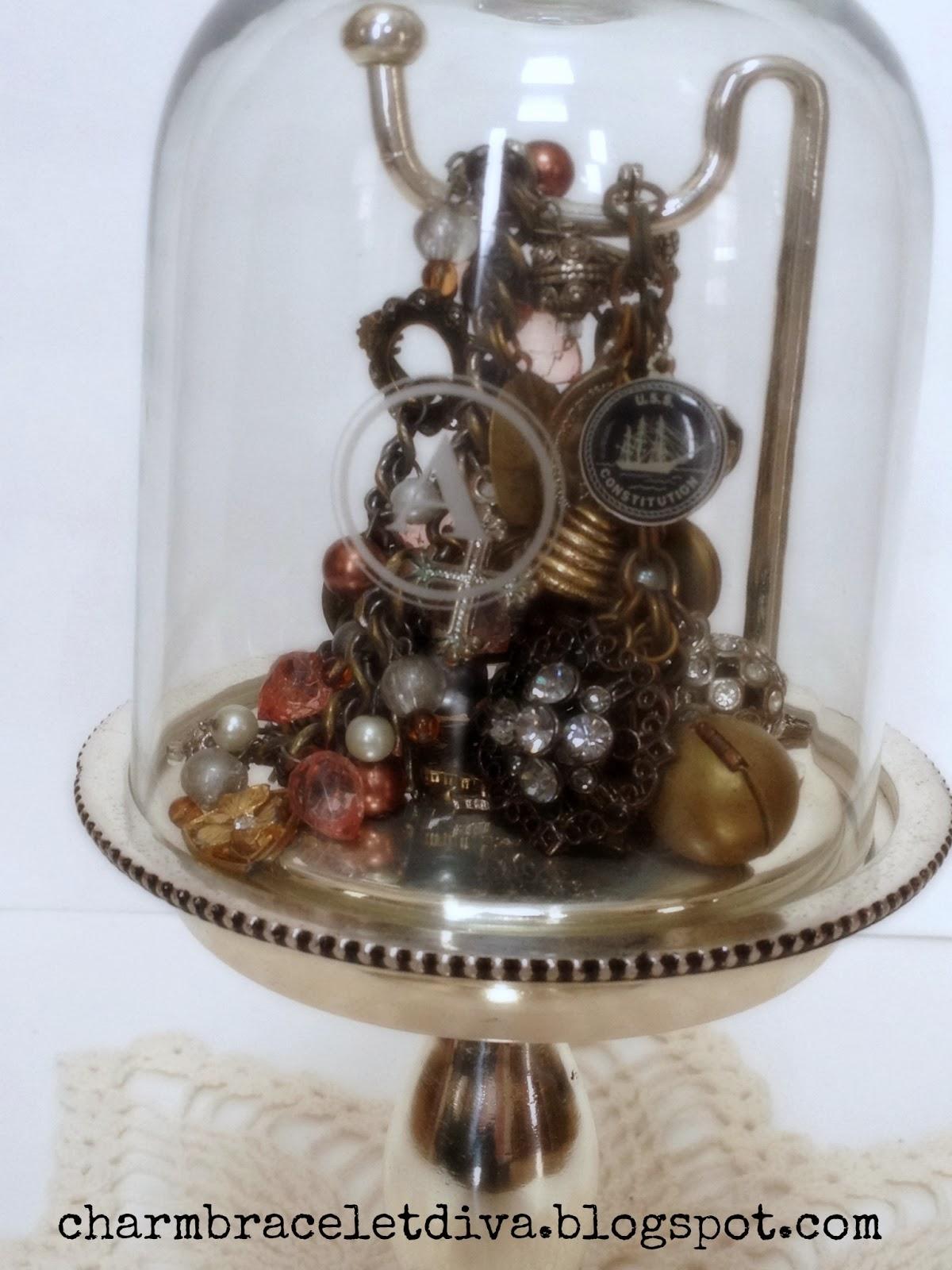 Our Hopeful Home: Unique {Pottery Barn} Monogram Jewelry ... Unique Bracelet Displays