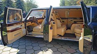Nieuwe dienstauto voor Vladimir Vladimirovitsj