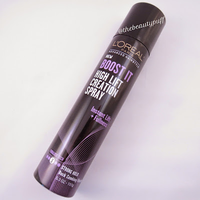 l'oreal boost it lift creation spray - the beauty puff