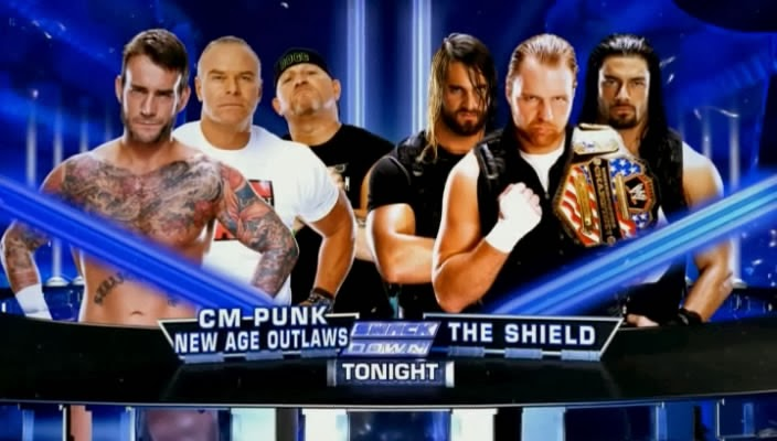 WWE Friday Night SmackDown 10/01/2014