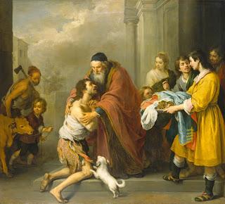 El regreso del hijo pródigo - 1667.70 - National Gallery of Art  Washington