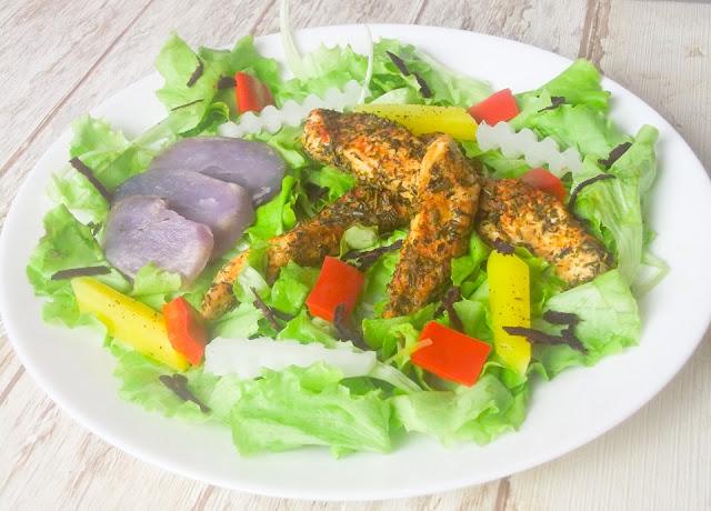pomysł na kurczaka na obiad z kolorowymi warzywami