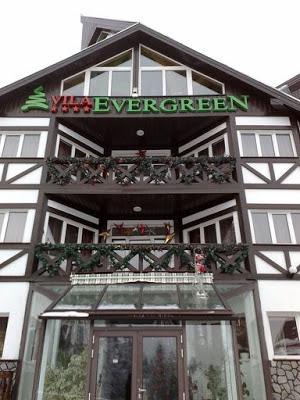 Vila Evergreen Predeal - cazare la munte de patru stele