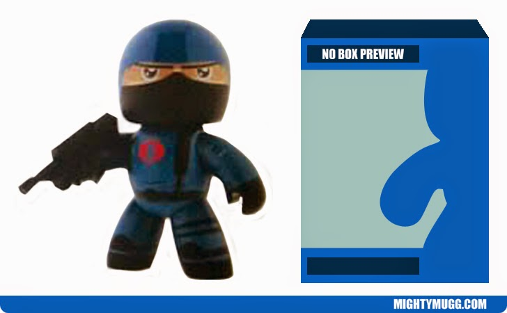 Cobra Trooper G.I.JOE Mighty Muggs Wave 3 Unreleased