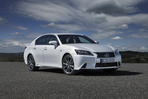 The Lexus gs 450h is The First